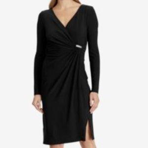 NWT $165 Ralph Lauren Women's Size 8 Black Dress